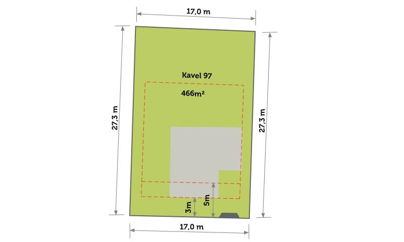 Nog 1 kavel beschikbaar op eiland 2