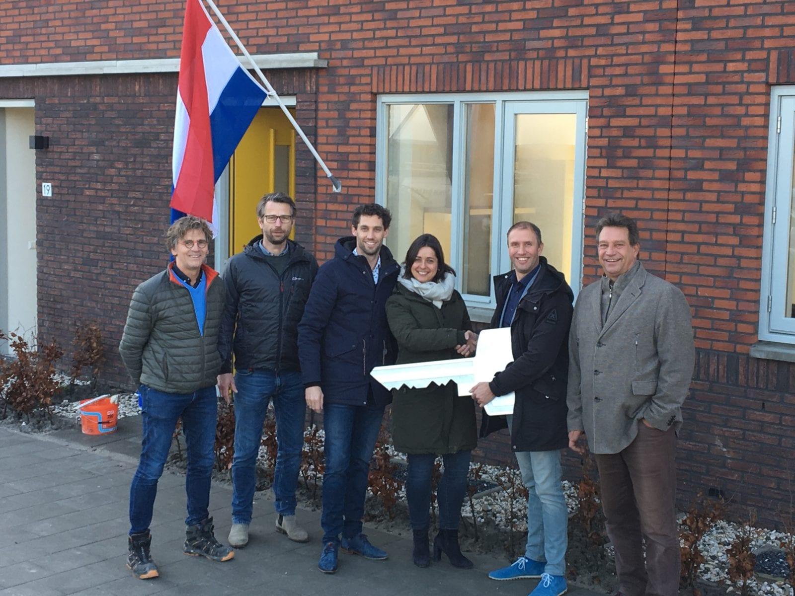 Oplevering huurwoningen Opmeer voor één van de groenste woningfondsen van Nederland